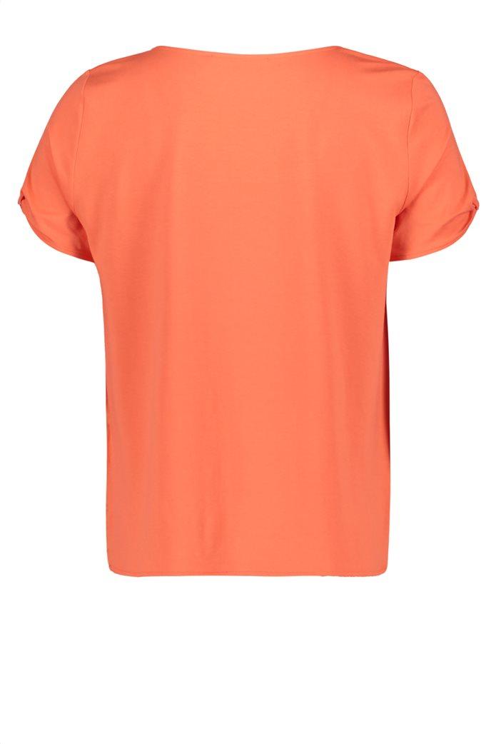BΕΤΤΥ & CO Γυναικεία μπλούζα κοντομάνικη μονόχρωμη 4