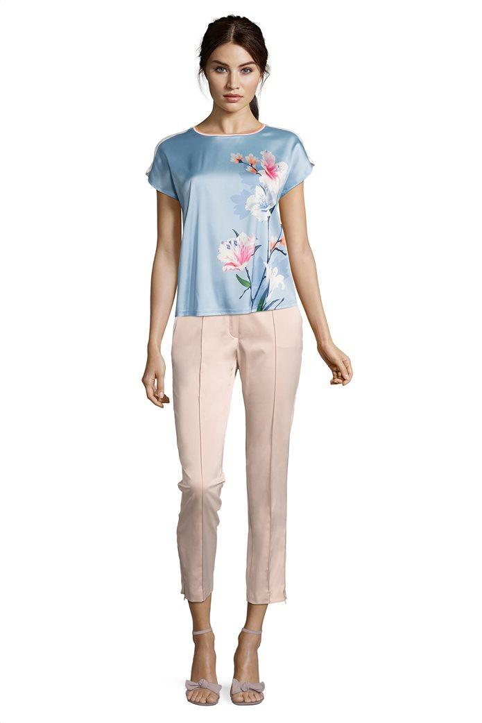 BΕΤΤΥ & CO Γυναικεία μπλούζα κοντομάνικη με μεγάλο φλόραλ print 2
