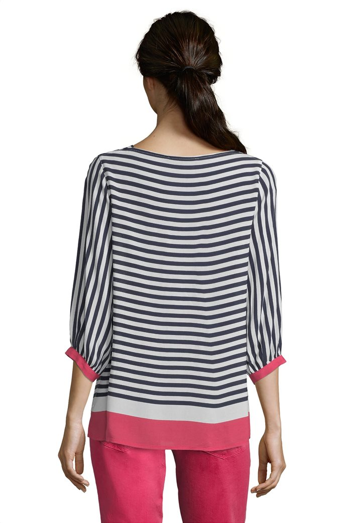 BΕΤΤΥ & CO Γυναικεία μπλούζα ριγέμε colorblock 1