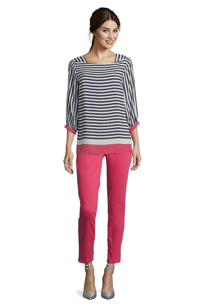 BΕΤΤΥ & CO Γυναικεία μπλούζα ριγέμε colorblock 2