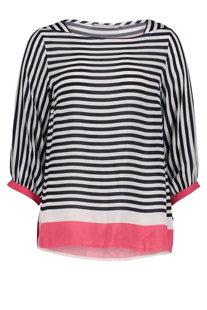 BΕΤΤΥ & CO Γυναικεία μπλούζα ριγέμε colorblock 3
