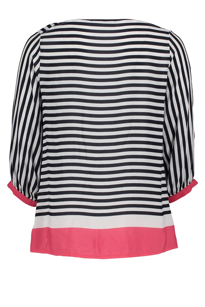 BΕΤΤΥ & CO Γυναικεία μπλούζα ριγέμε colorblock 4