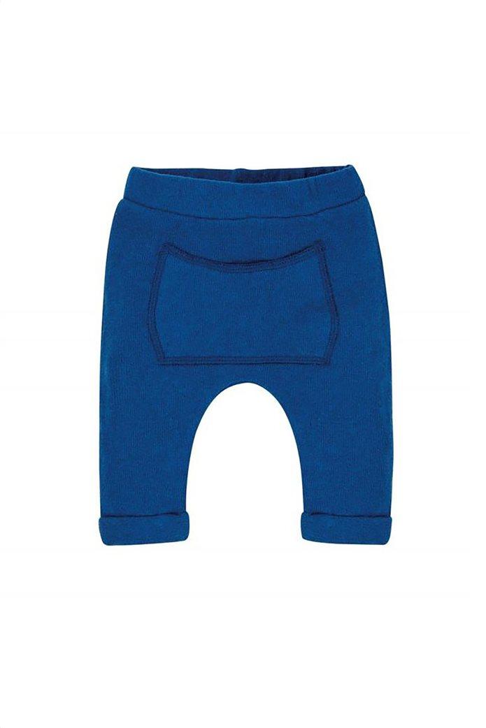 Grant EMC βρεφικό παντελόνι φόρμας με απλικέ τσέπη Μπλε Ηλεκτρίκ 0