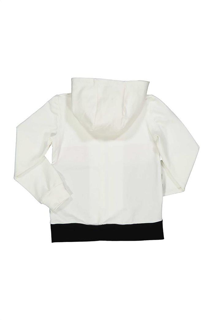 Grant TryBeyond παιδική φούτερ ζακέτα colourblocked με παγιέτες Λευκό 1