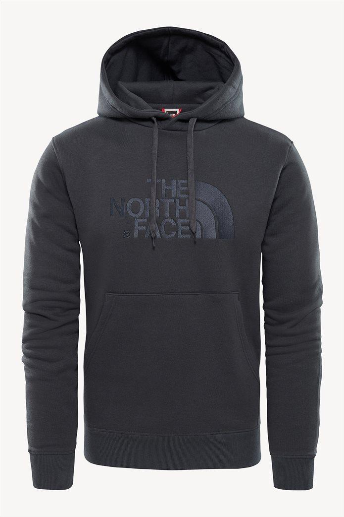 The North Face ανδρική μπλούζα φούτερ Drew Peakγκρι ανθρακί 0
