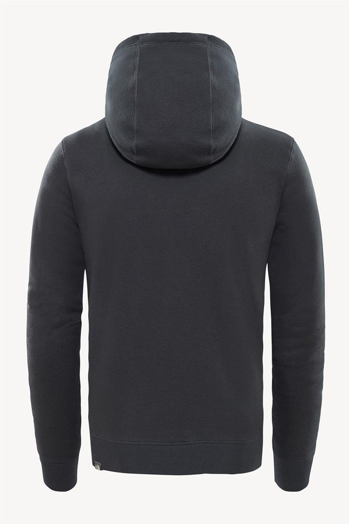 The North Face ανδρική μπλούζα φούτερ Drew Peakγκρι ανθρακί 2