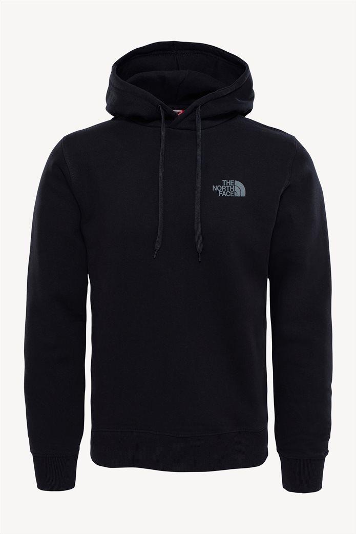 The North Face ανδρική μπλούζα φούτερ Drew Peak μαύρη 0