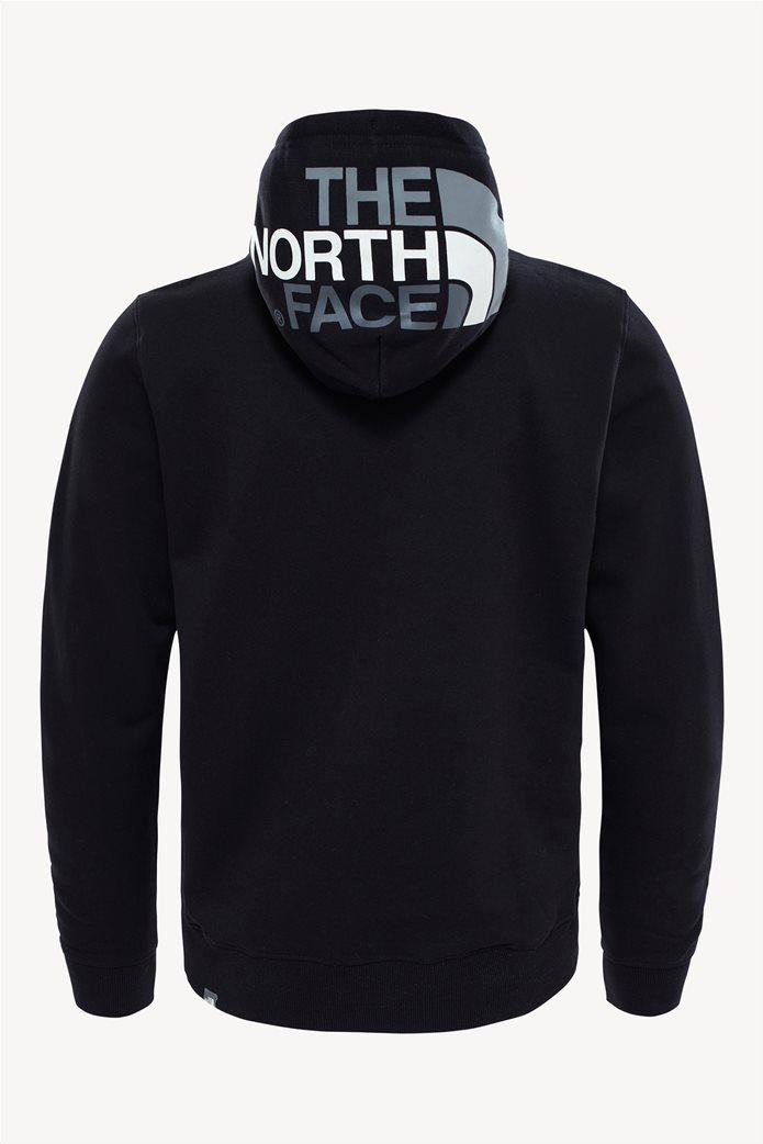 The North Face ανδρική μπλούζα φούτερ Drew Peak μαύρη 1