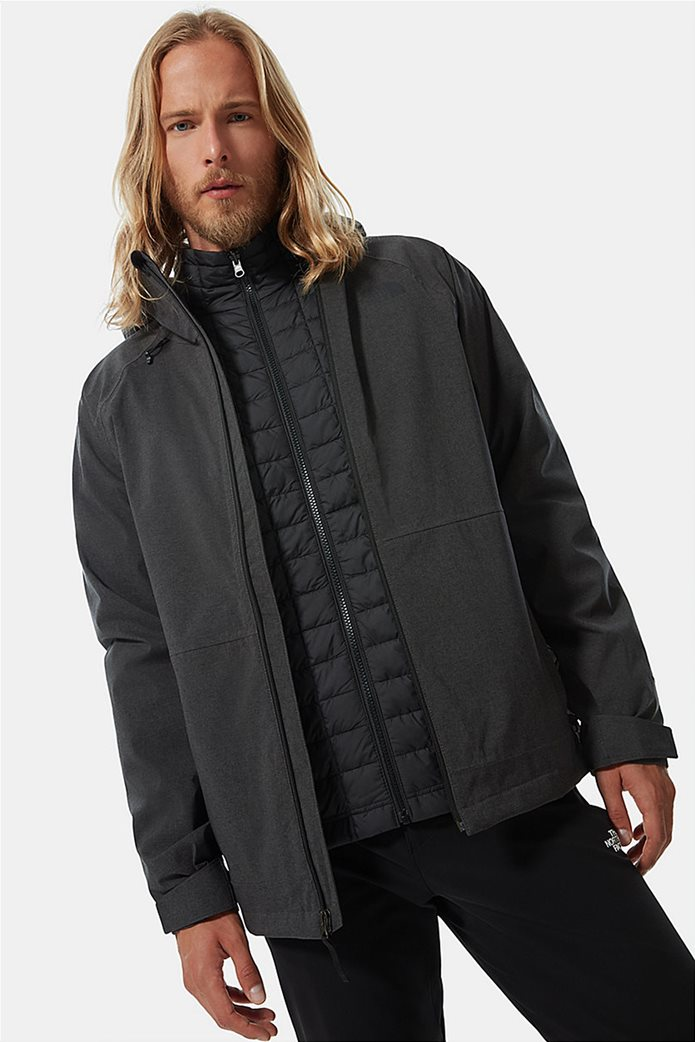 The North Face ανδρικό πολυμορφικό μπουφάν ''Thermoball Eco Triclimate'' Μαύρο 0