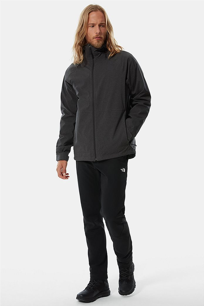 The North Face ανδρικό πολυμορφικό μπουφάν ''Thermoball Eco Triclimate'' Μαύρο 2