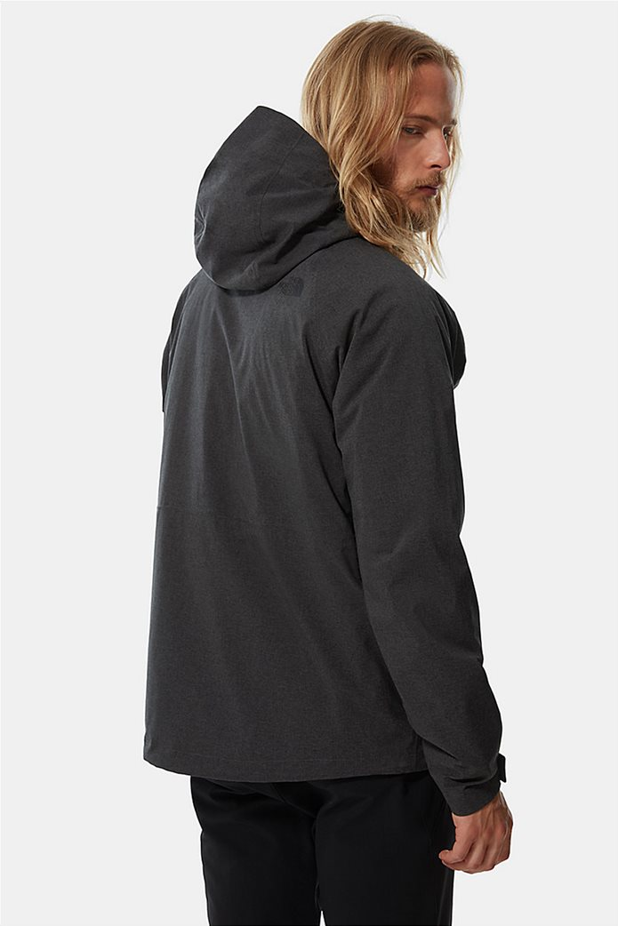 The North Face ανδρικό πολυμορφικό μπουφάν ''Thermoball Eco Triclimate'' Μαύρο 3