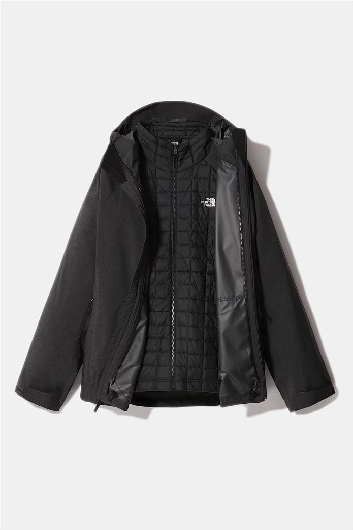 The North Face ανδρικό πολυμορφικό μπουφάν ''Thermoball Eco Triclimate'' Μαύρο 4