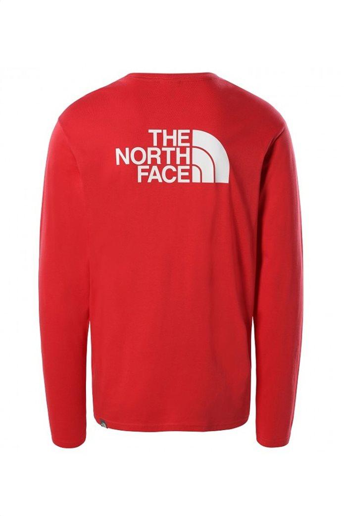 The North Face ανδρική μπλούζα με oversized logo print στο πίσω μέρος 1