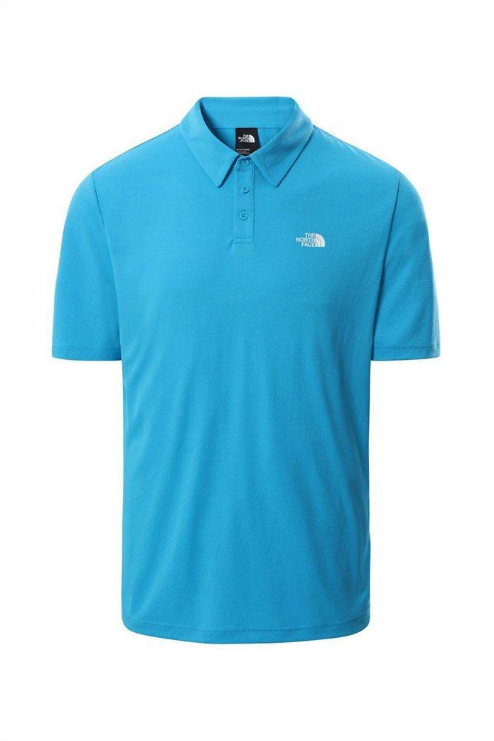 The North Face ανδρική πόλο μπλούζα ''Tanken'' Γαλάζιο 0