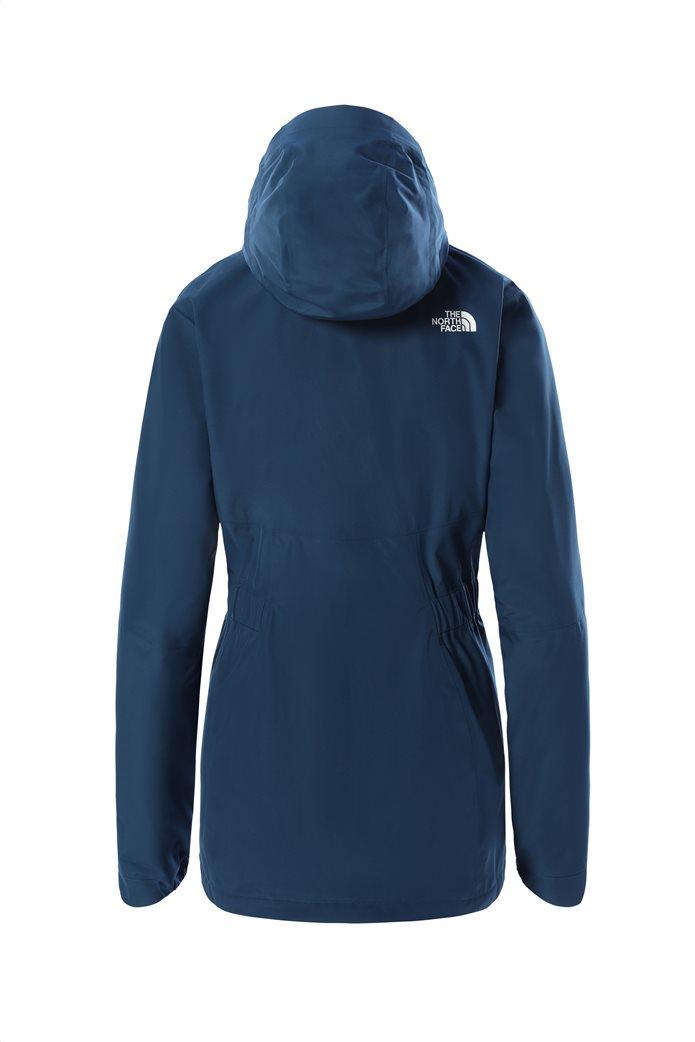 The North Face γυναικείο αδιάβροχο μπουφάν με κουκούλα ''Hikesteller'' Μπλε 1