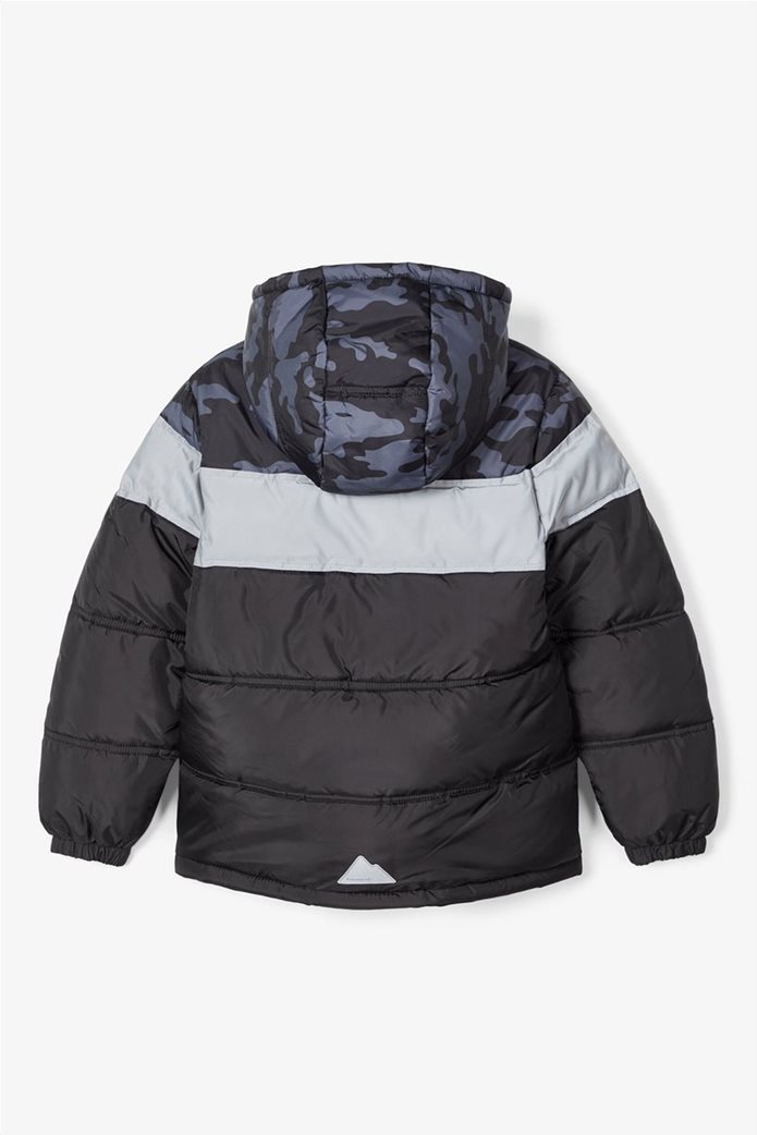 Name It παιδικό puffer jacket με camouflage print 1