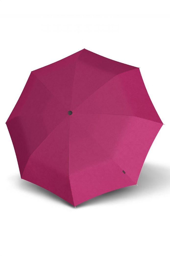 Knirps πτυσσόμενη ομπρέλα ''Duomatic'' Dhalia Violet  1