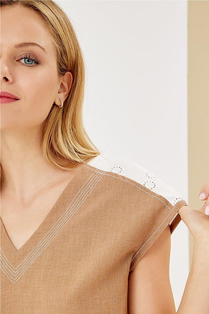 Forel γυναικεία μπλούζα με λεπτομέρεια στον ώμο 1