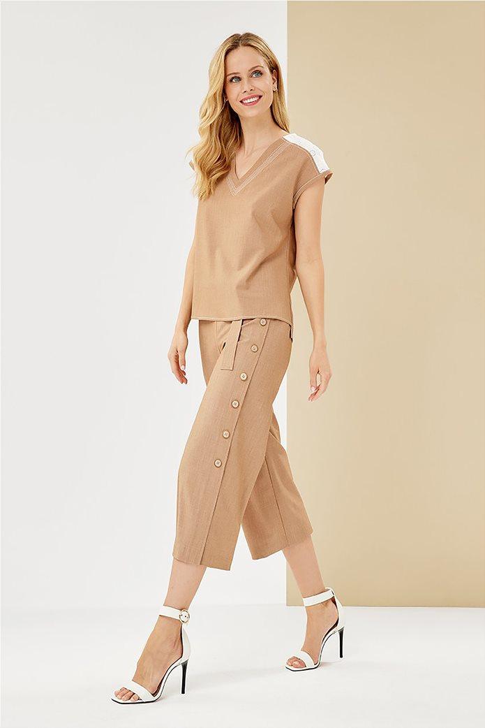 Forel γυναικεία μπλούζα με λεπτομέρεια στον ώμο 3