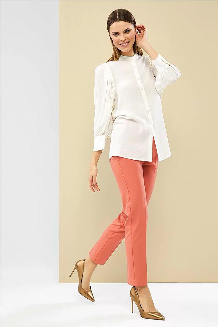 Forel γυναικείο πουκάμισο με μάο γιακά 4
