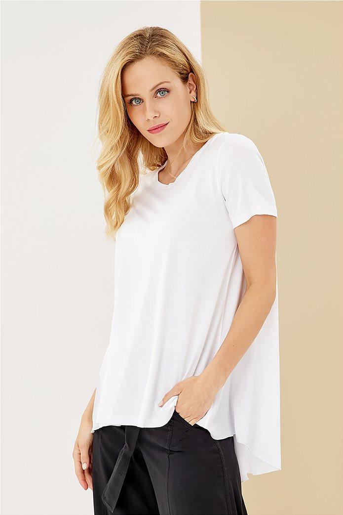 Forel γυναικεία μπλούζα ασύμμετρη 0