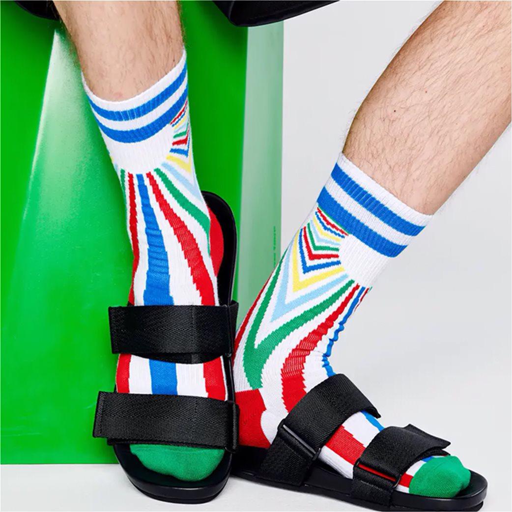 "Happy Socks unisex αθλητικές κάλτσες ""Sunset "" 2"