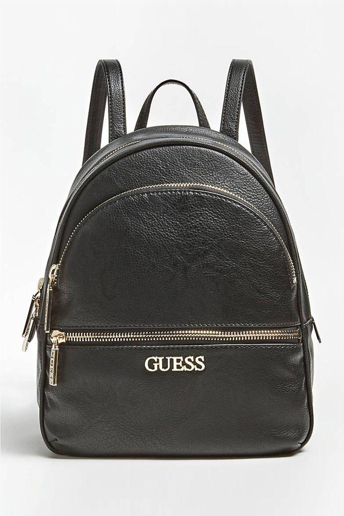 Guess γυναικείο backpack με μεταλλικό λογότυπο ''Manhattan'' 0