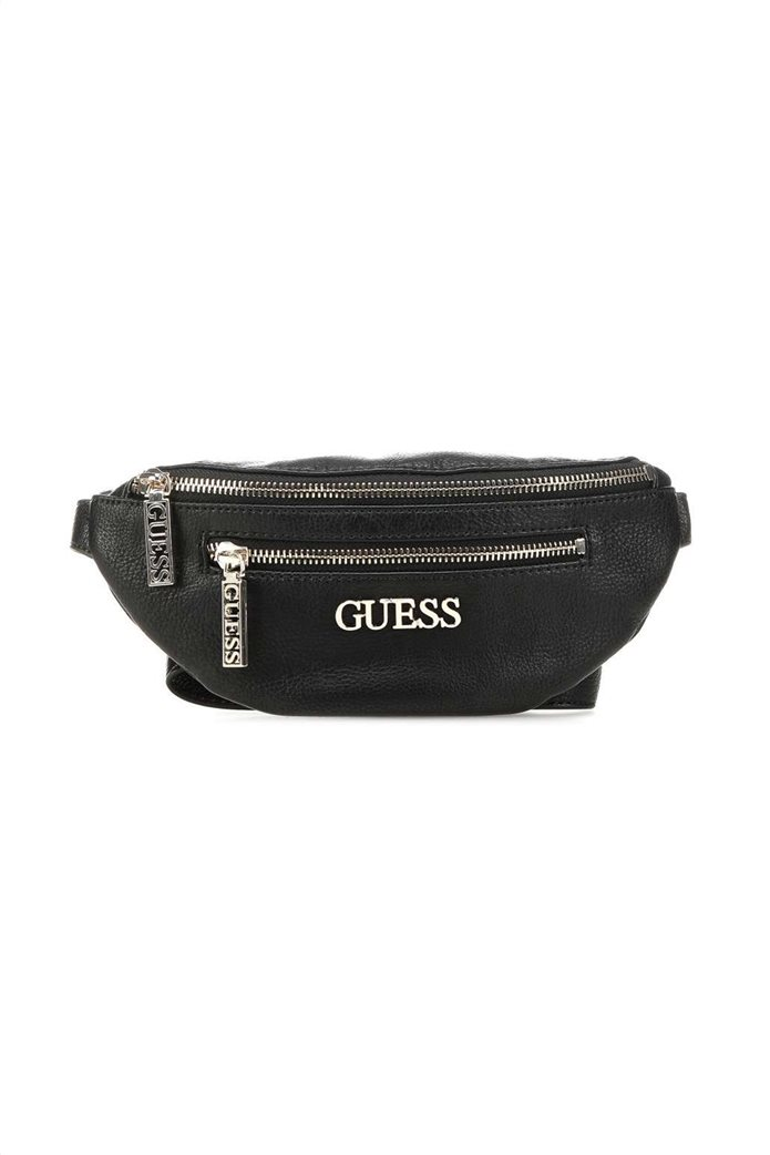 Guess γυναικείο belt bag με μεταλλικό λογότυπο ''Manhattan'' 0