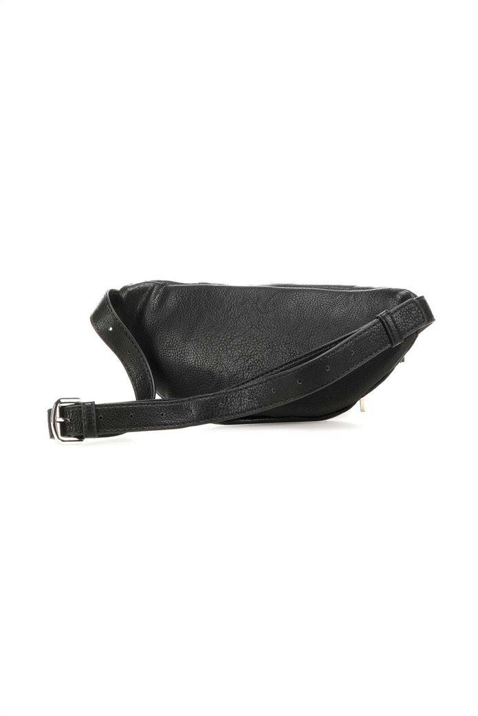 Guess γυναικείο belt bag με μεταλλικό λογότυπο ''Manhattan'' 1