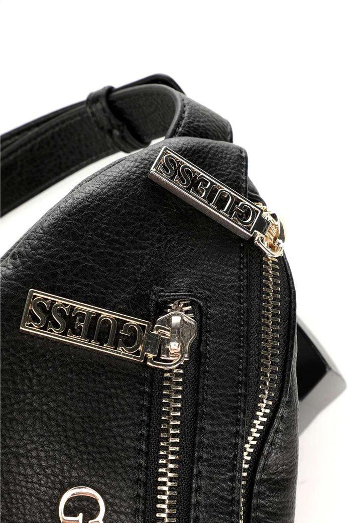Guess γυναικείο belt bag με μεταλλικό λογότυπο ''Manhattan'' 3