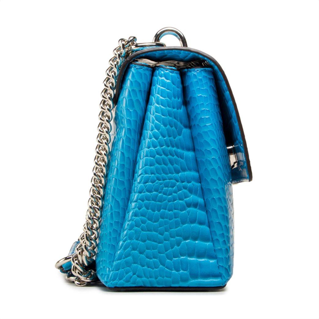 "Guess γυναικεία τσάντα ώμου croco με αλυσίδα ""Carabel"" 1"