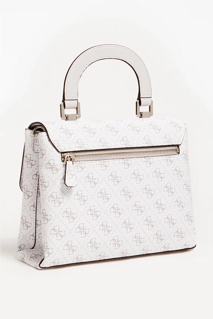 Guess γυναικεία τσάντα χειρός με all-over logo print ''Tyren'' 1