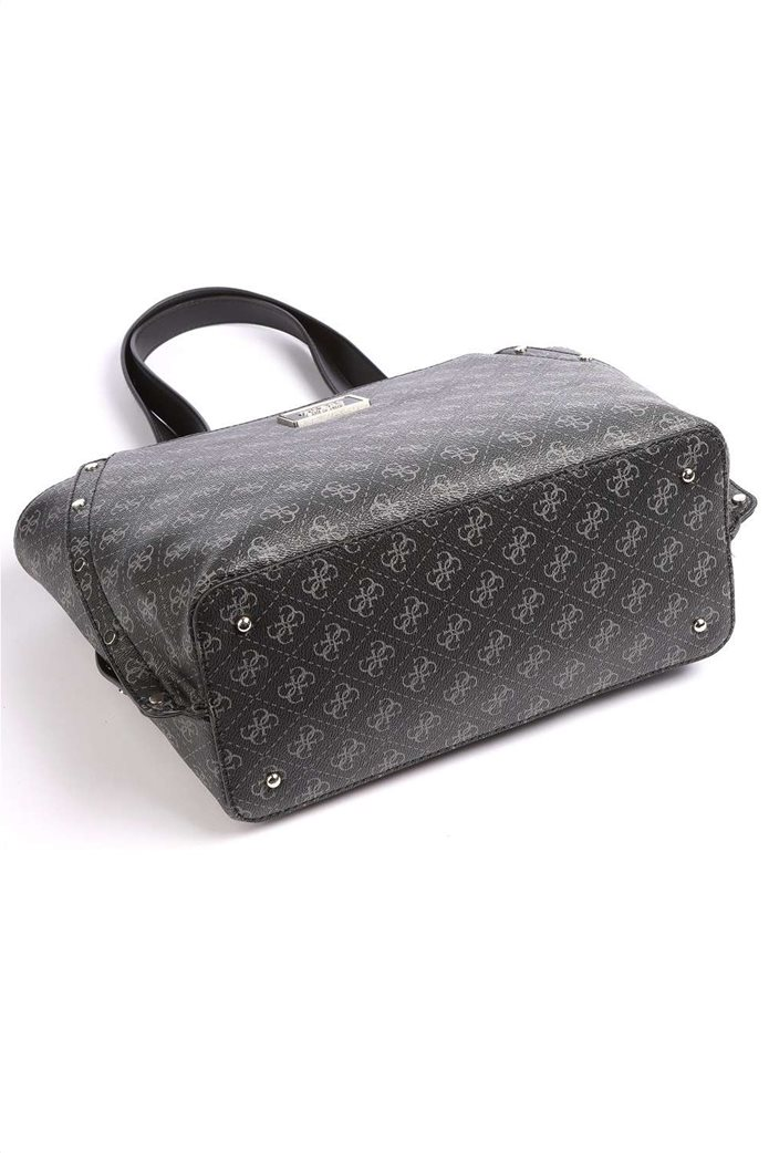 "Guess γυναικεία τσάντα ώμου με all-over logo print και τρουκς ""Tyren"" 2"