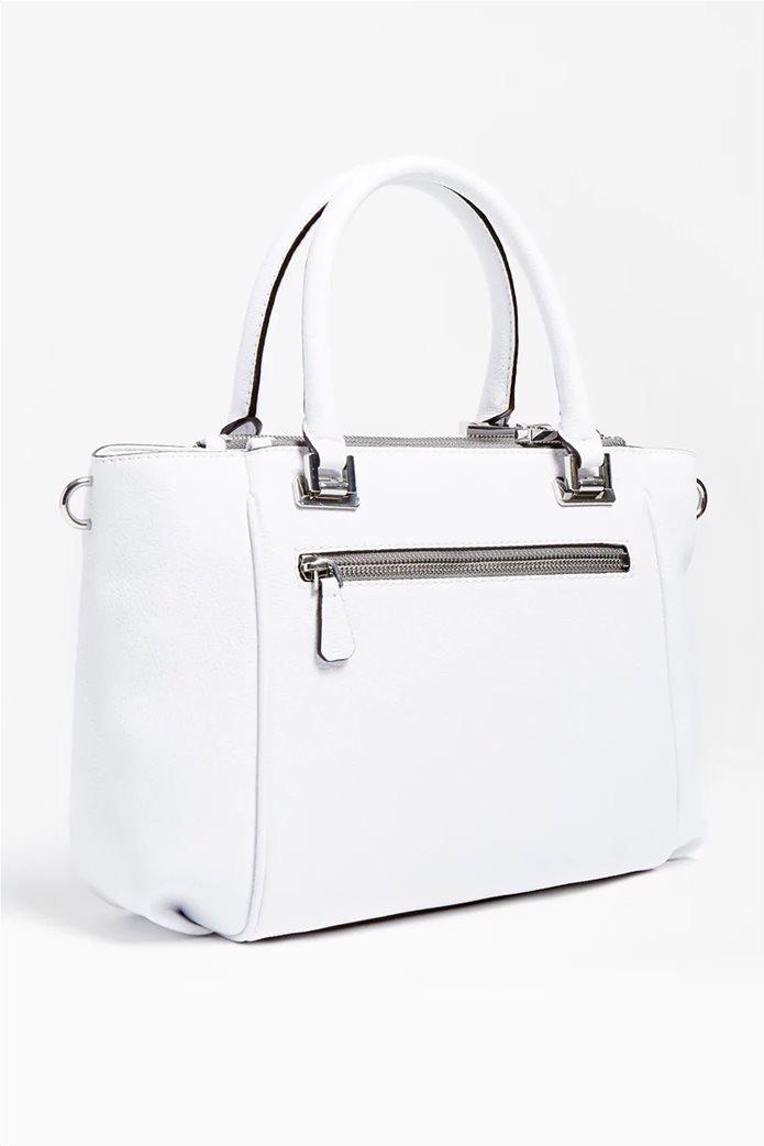 "Guess γυναικεία τσάντα χειρός με διακοσμητικό μπρελόκ ""Destiny"" 2"