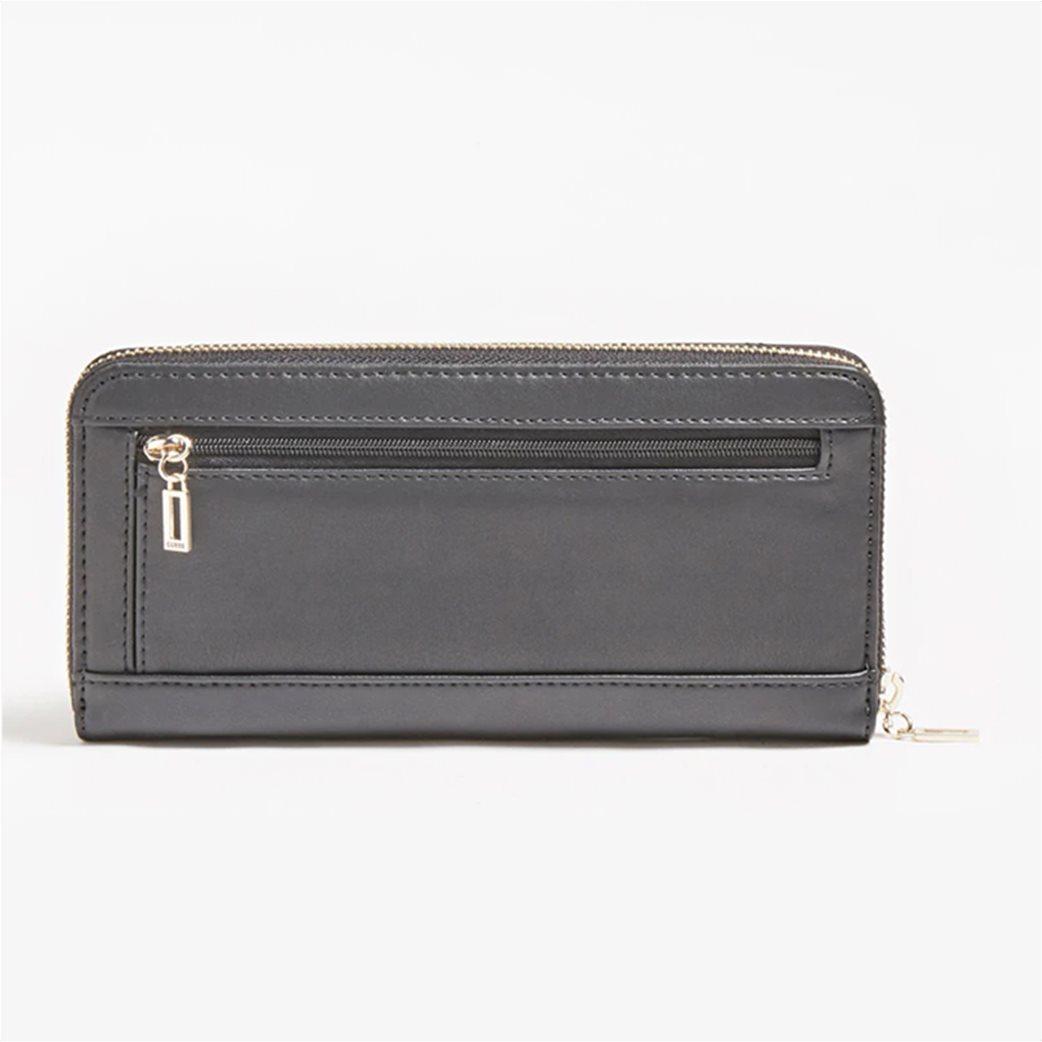"""Guess γυναικείο πορτοφόλι καπιτονέ με μεταλλικό λογότυπο """"Illy"""" 1"""