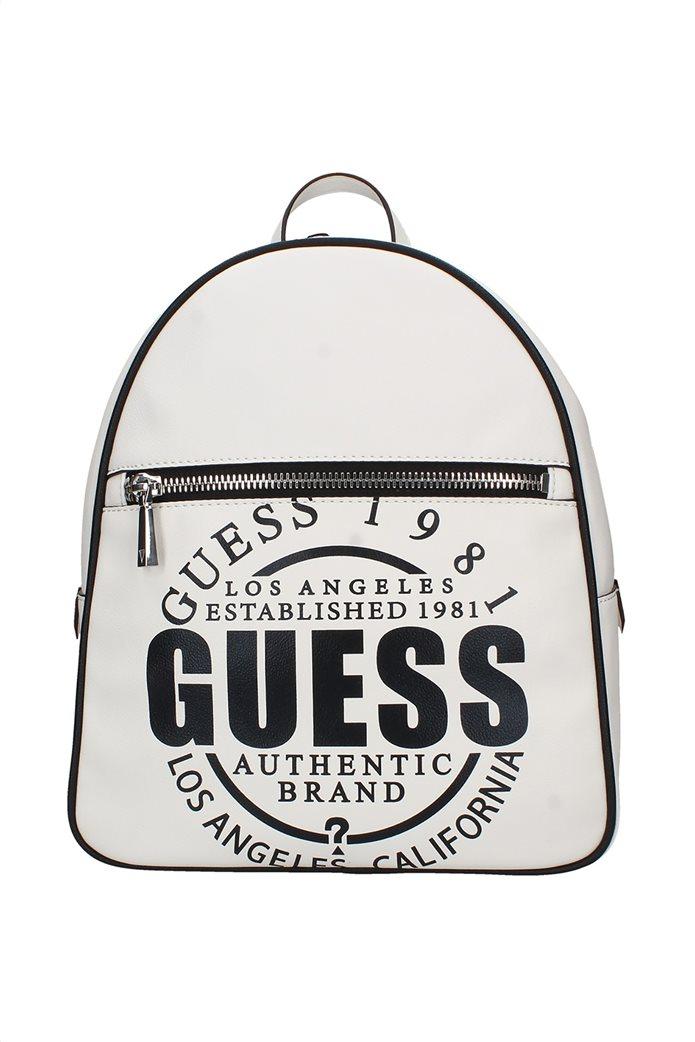 Guess γυναικείο backpack με oversized logo print ''Kalipso'' 0