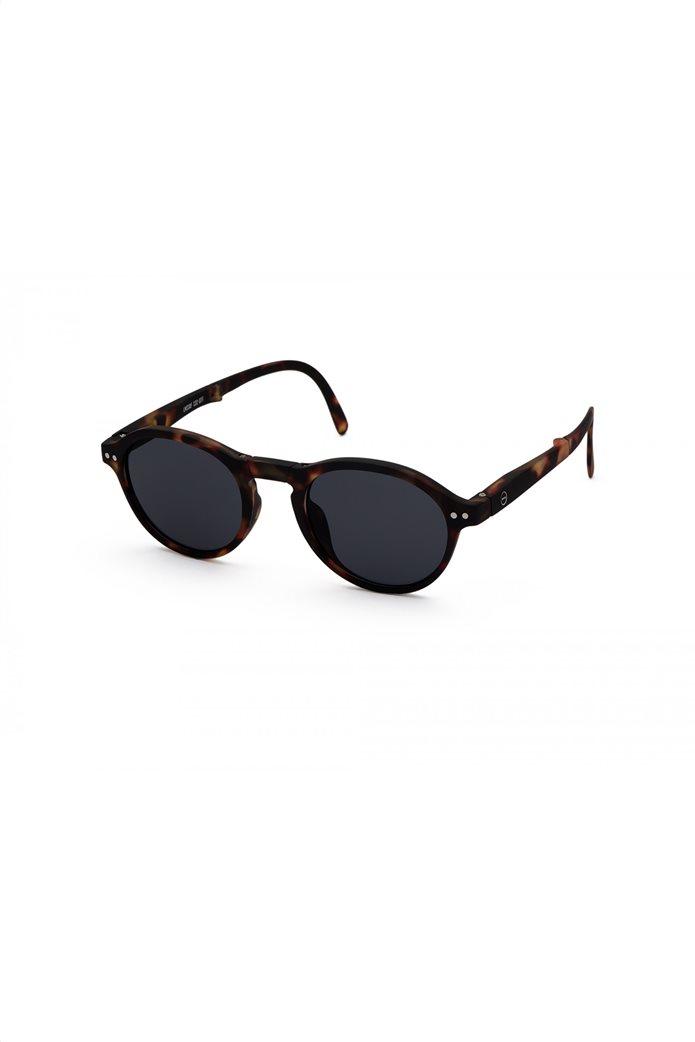 "Izipizi unisex γυαλιά ηλίου με αναδιπλούμενο σκελετό ""#F"" Καφέ 1"