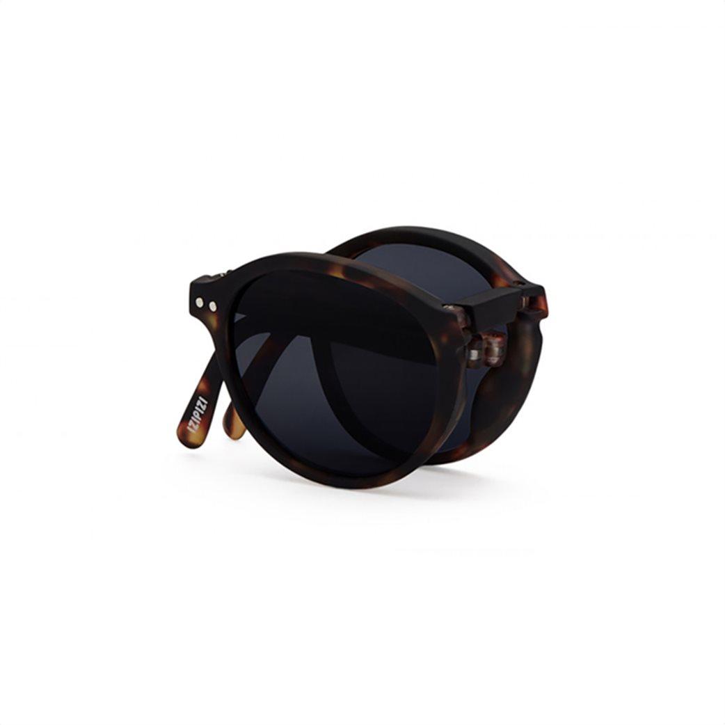 "Izipizi unisex γυαλιά ηλίου με αναδιπλούμενο σκελετό ""#F"" Καφέ 2"