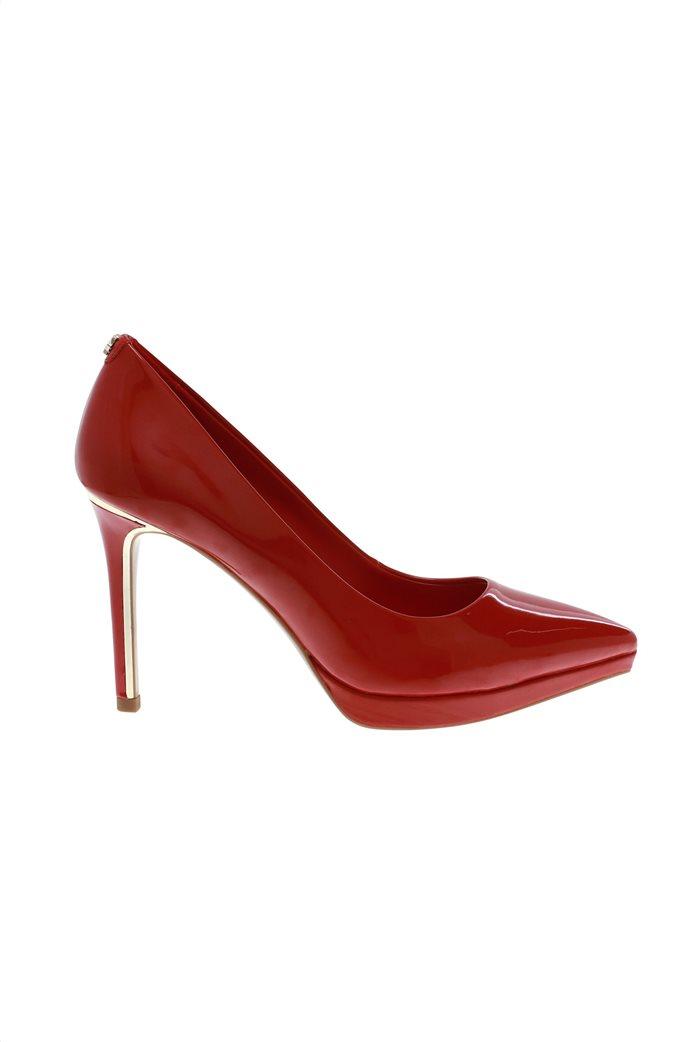 """DKNY γυναικεία ψηλοτάκουνη γόβα λουστρίνι μονόχρωμη """" Lexi - High Pump"""" 0"""