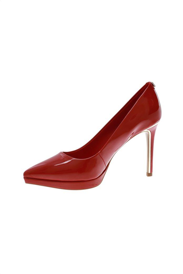 """DKNY γυναικεία ψηλοτάκουνη γόβα λουστρίνι μονόχρωμη """" Lexi - High Pump"""" 1"""