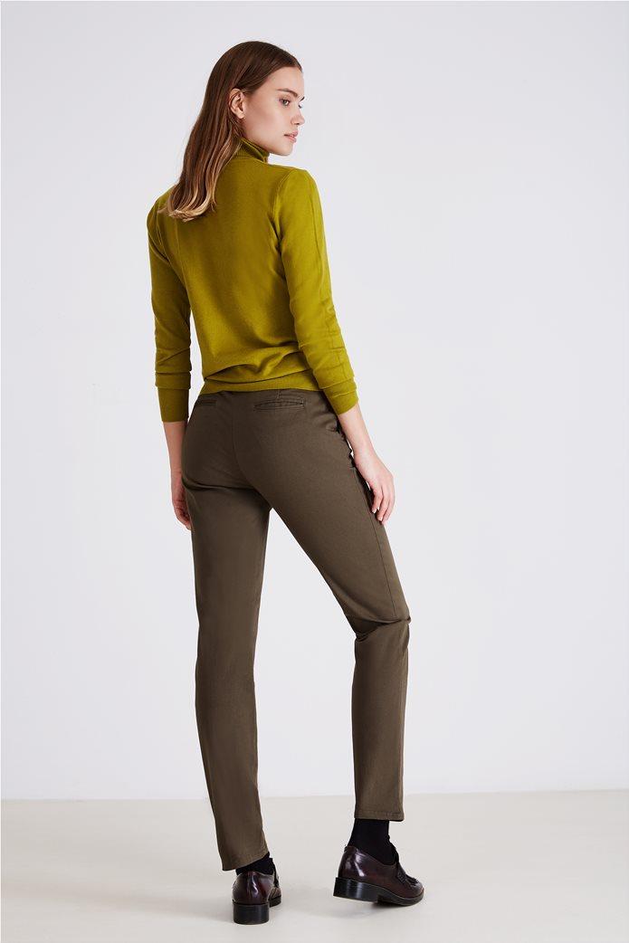 Sarah Lawrence Jeans γυναικείο παντελόνι chino μονόχρωμο 2