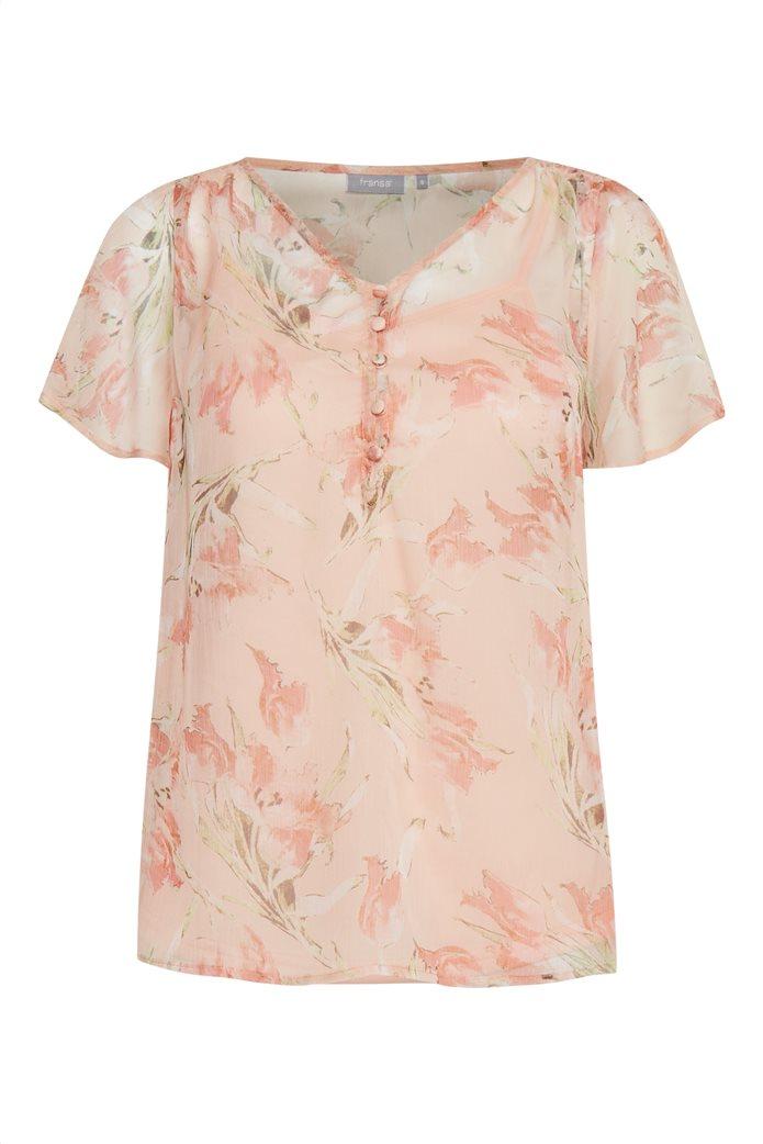 Fransa γυναικεία μπλούζα με floral print