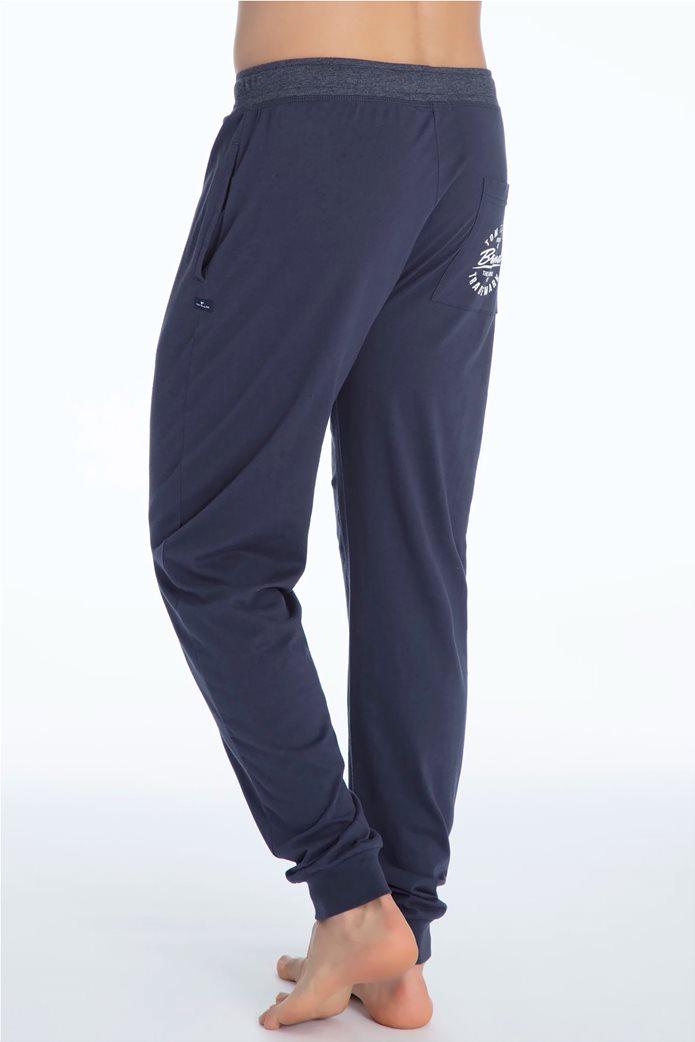 Tom Tailor ανδρικό παντελόνι πιτζάμας μονόχρωμο 2