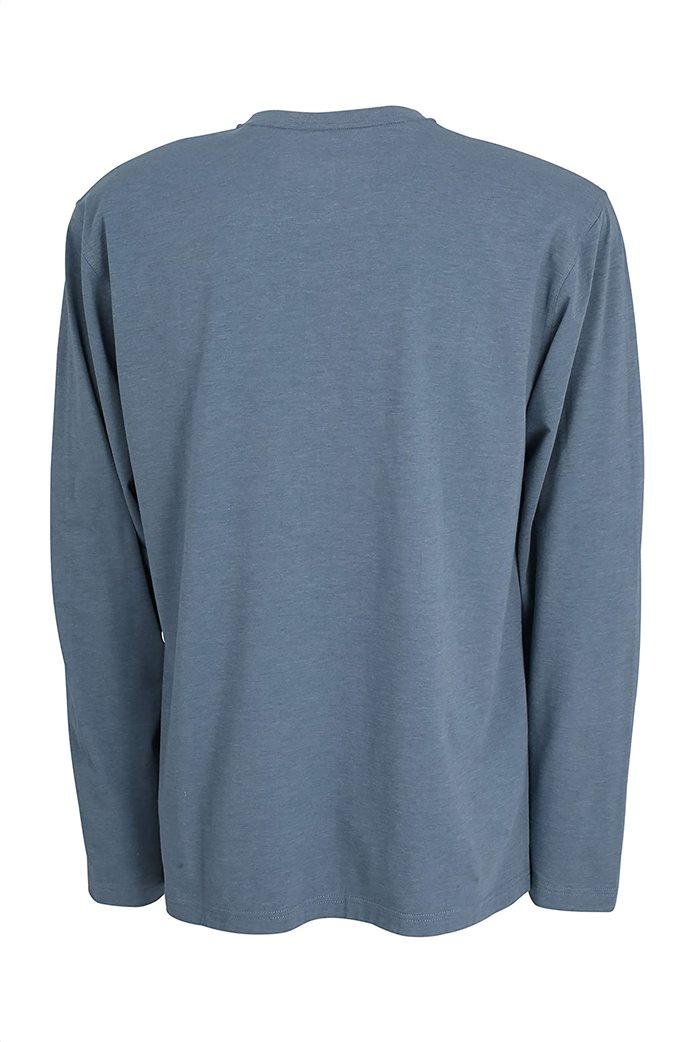 Ceceba ανδρική μπλούζα πιτζάμας μονόχρωμη 1