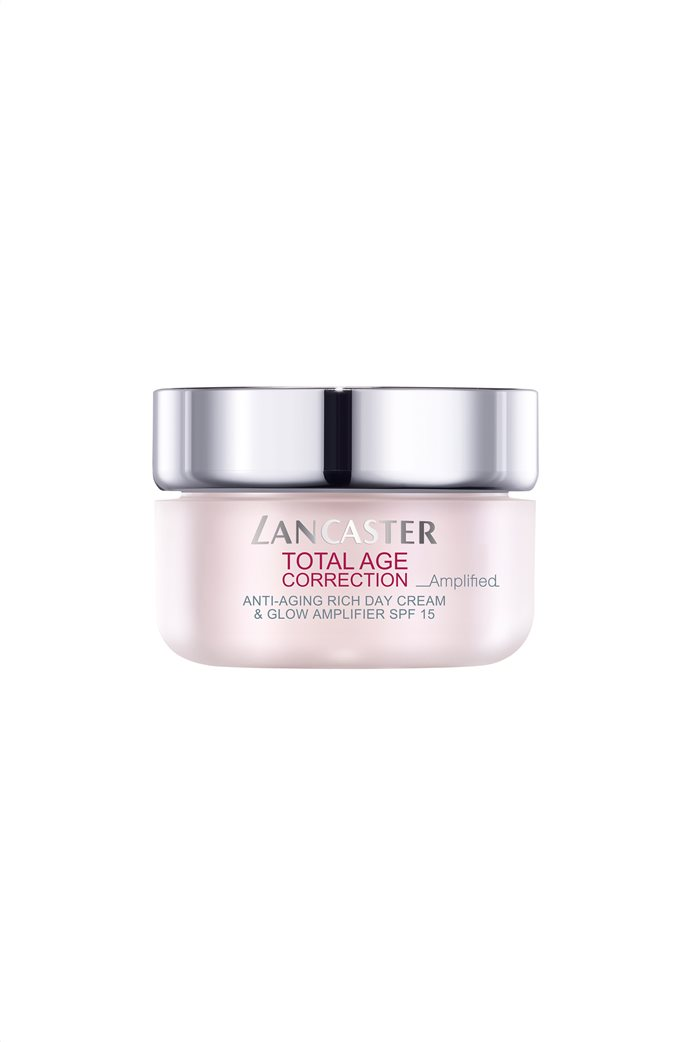 Lancaster Total Age Correction Amplified - Anti-Aging Rich Day Cream & Glow Amplifier Spf15 50 ml  0