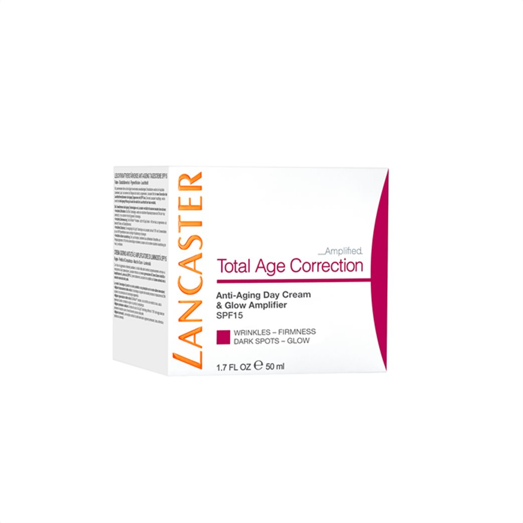 Lancaster Total Age Correction Amplified - Anti-Aging Day Cream & Glow Amplifier Spf15 50 ml  2