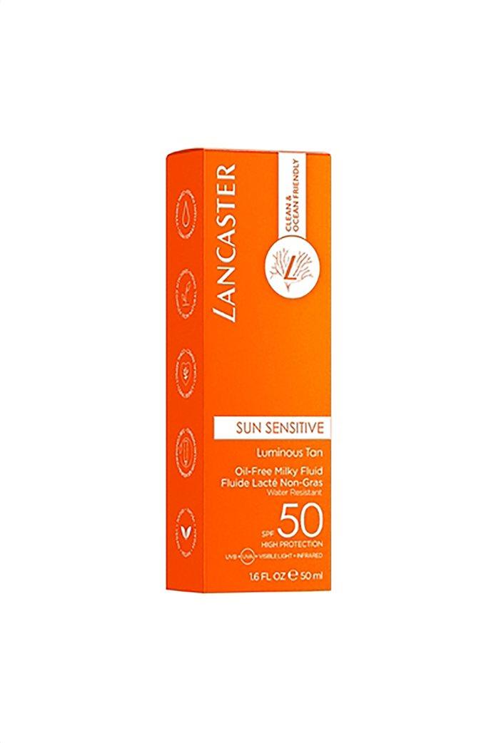 Lancaster Sun Sensitive Oil-Free Milky Fluid For Face SPF50 50 ml  3