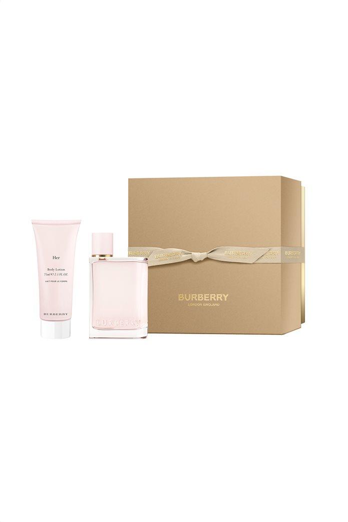 Burberry Her Eau de Parfum XM19 Parfum Set 50 ml + Body Lotion 75 ml 0