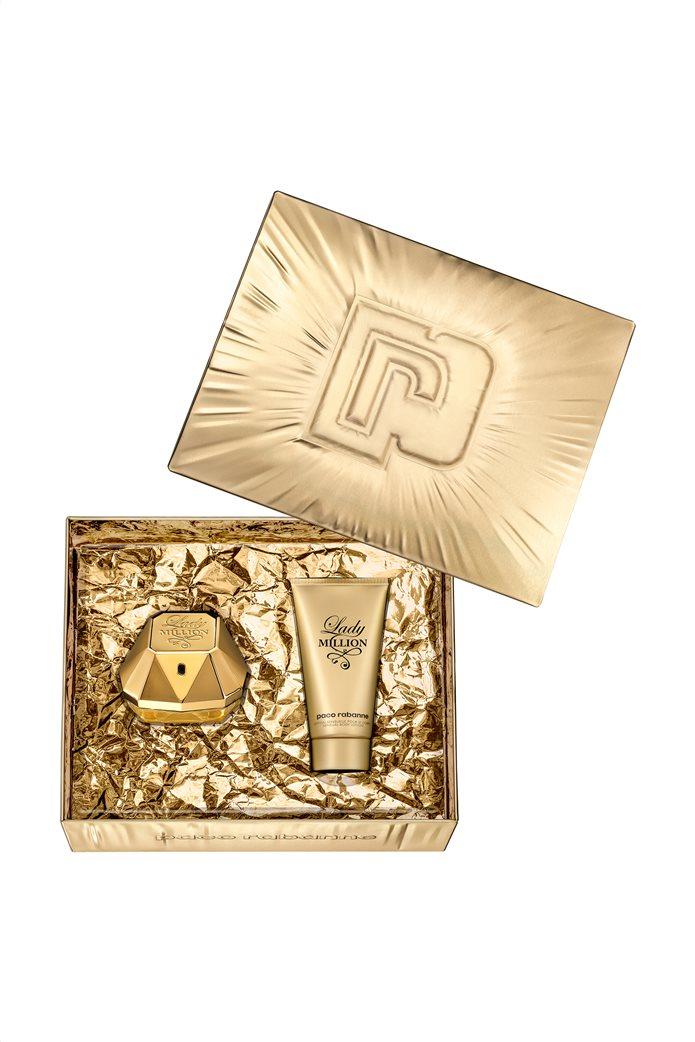 Paco Rabanne Lady Million Eau De Parfum 50 ml + Body Lotion 75 ml 0