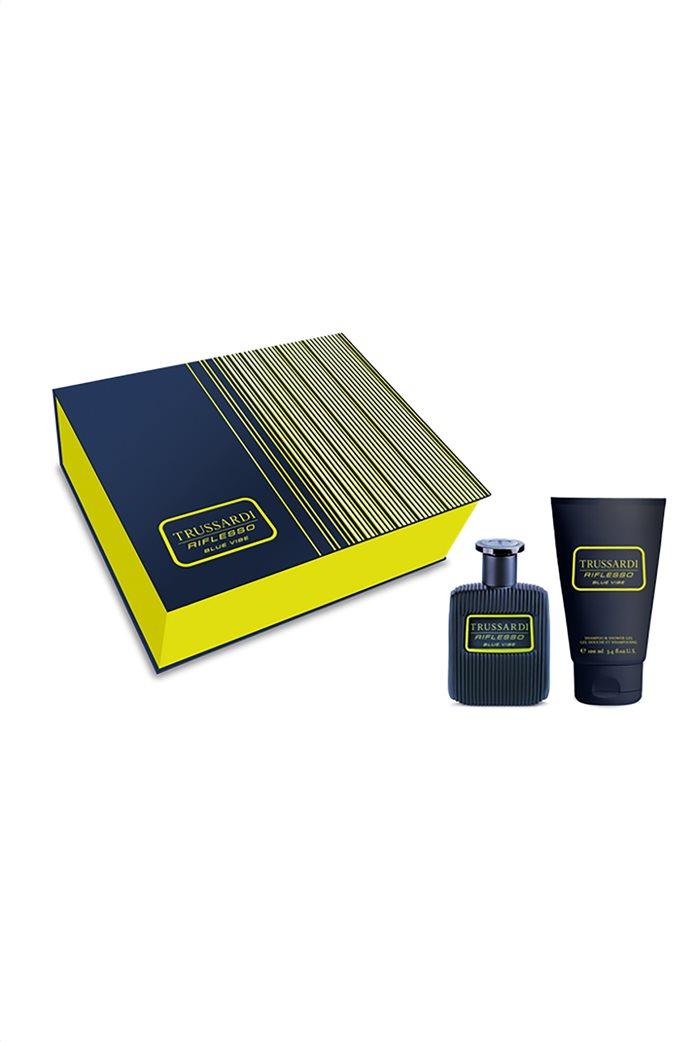 Trussardi Riflesso Blue Vibe Eau De Toilette 50 ml & Shower Gel 100 ml 0